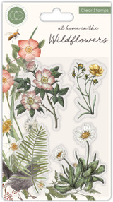 At Home in the Wildflowers   Katie Putt   Craft Consortium   Stamp Set   Flora