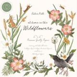 "Craft Consortium | At Home in the Wildflowers | Premium Paper Pad | 6"" x 6"" - Main Image"