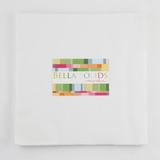 Bella Solids | Moda Fabrics | White Bleached | Junior Layer Cake