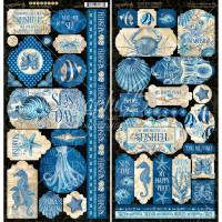 Stickers | Ocean Blue | Graphic 45