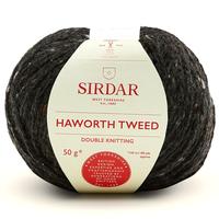Sirdar Haworth Tweed DK Knitting Yarn, 50g balls | 901 Hepworth Slate