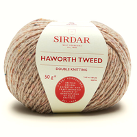 Sirdar Haworth Tweed DK Knitting Yarn, 50g balls  | 912 Yorkshire Stone