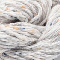 Gossypium Cotton Tweed  DK Knitting Yarn by Erika Knight - 01 Snow White