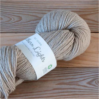 BC Garn Northern Lights GOTS Aran Weight Knitting Yarn, 100g Hanks | 03 Dark Beige
