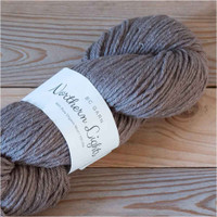 BC Garn Northern Lights GOTS Aran Weight Knitting Yarn, 100g Hanks | 06 Mink