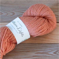 BC Garn Northern Lights GOTS Aran Weight Knitting Yarn, 100g Hanks | 08 Orange