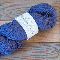 BC Garn Northern Lights GOTS Aran Weight Knitting Yarn, 100g Hanks | 20 Dark Blue