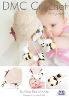 Bumble Bee Mobile Amigurumi Crochet Patterns | DMC Petra 3