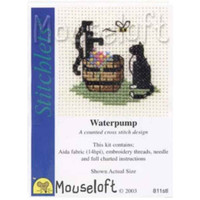 Mouseloft Stitchlets Mini Cross Stitch Kits   Waterpump