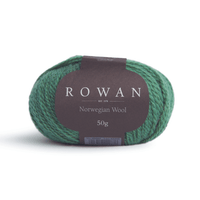 Rowan Selects Norwegian Wool Colour | 17 Emerald