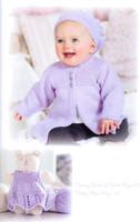 Peter Pan | Merino Baby DK Knitting Yarn | Knitting Pattern Book (Number 355)