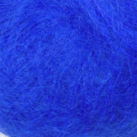 Adriafil Kid Mohair Knitting Yarn, 25g | Various Shades - solid colour of bluette