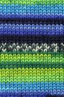 Adriafil Knitcol Self Patterning Knitting Yarn, 50g Balls Shade 64 Verdi Fancy