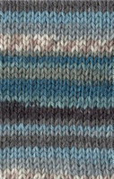 Adriafil Knitcol Self Patterning Knitting Yarn, 50g Balls Shade 75 Sea Fancy