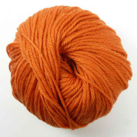 Adriafil Regina DK 100% Merino Wool Yarn, 50g   Various Colours  - 35 Pumpkin