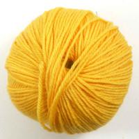 Adriafil Regina DK 100% Merino Wool Yarn, 50g   Various Colours - 46 Dandelion