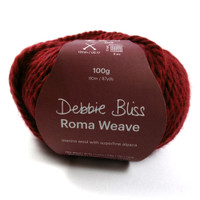 Debbie Bliss Roma Weave with ball band- Berry 53509