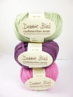 Debbie Bliss Cashmerino Aran Knitting Yarn, 50g   Various Colours  - Main image