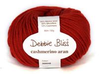 Debbie Bliss Cashmerino Aran Knitting Yarn, 50g   Various Colours  - Main image 2