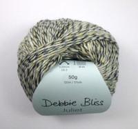 Debbie Bliss Juliet 4 Ply Yarn Knitting Yarn, 50g Balls | 03 Allium Ball