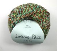 Debbie Bliss Juliet 4 Ply Yarn Knitting Yarn, 50g Balls | 08 PoppyBall