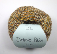 Debbie Bliss Juliet 4 Ply Yarn Knitting Yarn, 50g Balls | 12 Sunflower Ball