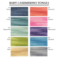 The range of Debbie Bliss Tonal Colours
