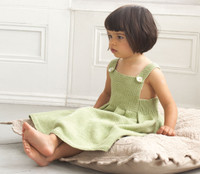 Sun dress Knitting pattern in Eco baby