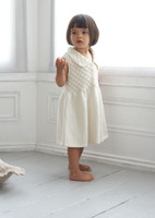 Sleeveless Smock Dress Knitting pattern in Eco baby