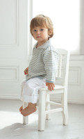 Striped Sailor Top Knitting pattern in Eco baby