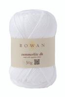 Rowan Summerlite DK Knitting Yarn, 50g Balls | 465 White