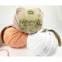 DMC Natura XL Just Cotton Super Chunky Knitting Yarn | Various Colours