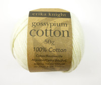 Erika Knight Gossypium Cotton DK Knitting Yarn - Shade 500 Milk
