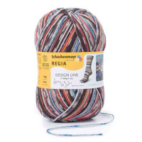 Regia Design Line 6 Ply by Arne & Carlos, 150g Balls - Shade 3655