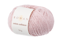 Rowan Cotton Cashmere DK Knitting Yarn, 50g Donuts | Various Shades  - 216 Pearly Pink