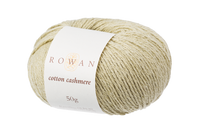 Rowan Cotton Cashmere DK Knitting Yarn, 50g Donuts   Various Shades  - 220 Linden Green