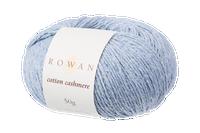 Rowan Cotton Cashmere DK Knitting Yarn, 50g Donuts   Various Shades  - 221 Morning Sky