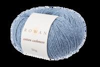 Rowan Cotton Cashmere DK Knitting Yarn, 50g Donuts | Various Shades  - 222 Faded Denim