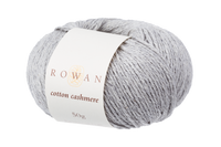 Rowan Cotton Cashmere DK Knitting Yarn, 50g Donuts | Various Shades  - 224 Silver Lining