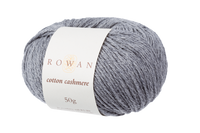 Rowan Cotton Cashmere DK Knitting Yarn, 50g Donuts | Various Shades  - 225 Stormy Sky