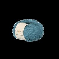 Rowan Cotton Cashmere DK Knitting Yarn, 50g Donuts   Various Shades  - 230 Ocean