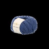 Rowan Cotton Cashmere DK Knitting Yarn, 50g Donuts   Various Shades  - 231 Indigo