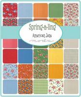 Spring-a-Ling | American Jane | Moda Fabrics | Layer Cake - Fabrics in the Range