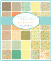 Refresh Fabric Collection | Sandy Gervais | Moda Fabrics | Layer Cake - Range of Fabrics in the Collection