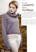 Victoria Sweater knitted in Camelpiu DK - Jumper which you can make with Adriafil Camelpiu