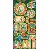 Graphic 45 | Chipboard | Christmas Magic Collection