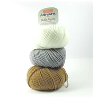 Adriafil Stella Alpina 100% Wool Aran Knitting Yarn, 50g | Various Shades - Main Image