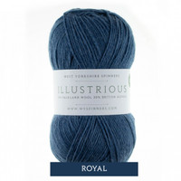 WYS Illustrious DK Knitting Yarn, 100g Balls | 174 Royal