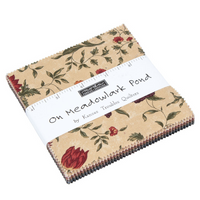 On Meadowlark Pond | Kansas Troubles Quilters | Moda Fabrics | Charm Pack