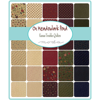 On Meadowlark Pond | Kansas Troubles Quilters | Moda Fabrics | Swatches